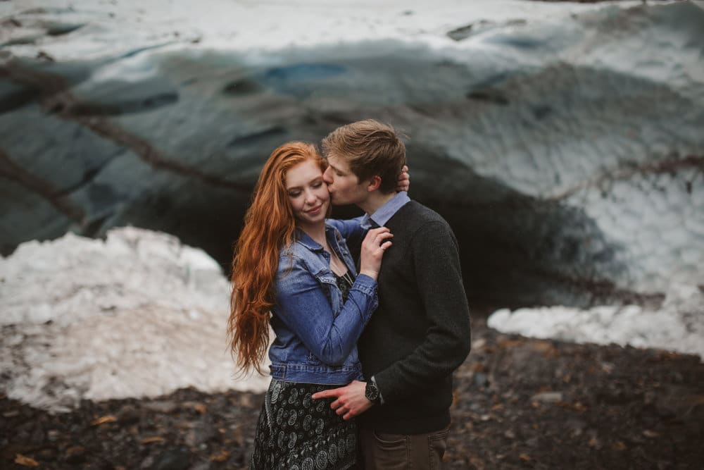 Granite Falls, Big Four Ice Caves, Engagement Shoot