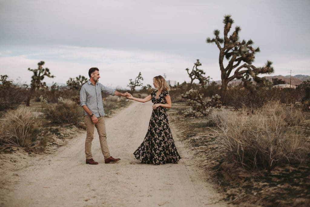 John & Kate // Joshua Tree National Park Couples Session