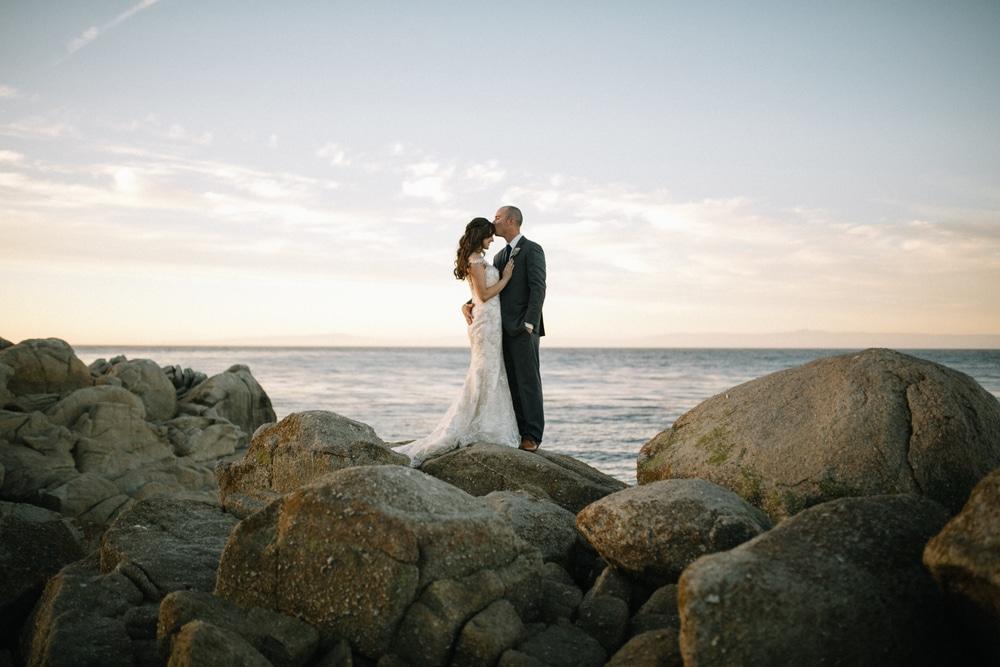Raichelle & Ben // Beautiful Perry House Wedding in Monterey Bay, CA