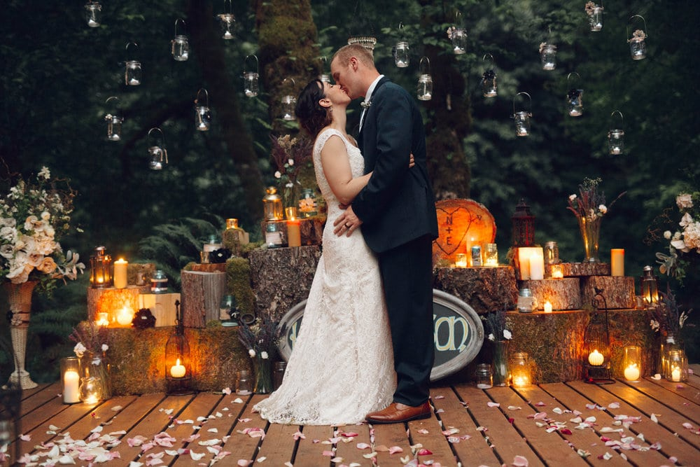 Wedding, Sol Duc, Backyard, Beautiful