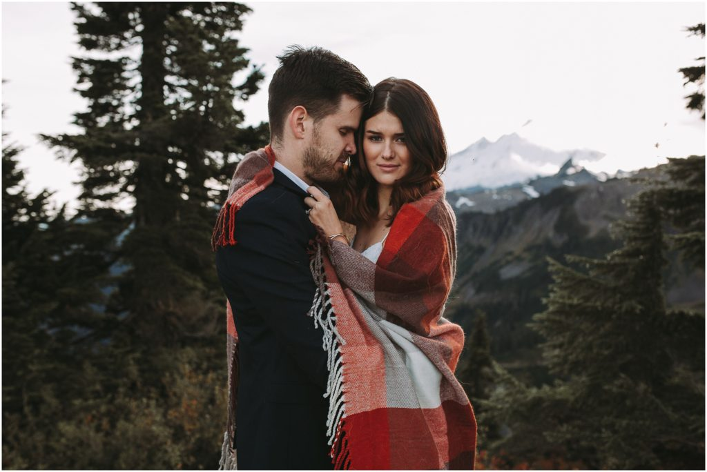 mt shuksan mt baker elopement wedding kim butler