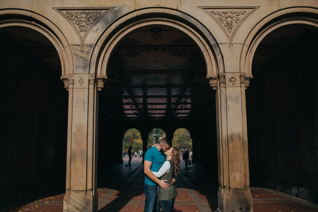 Ben & Leslie // Romantic Urban Couples Session in New York City & Brooklyn