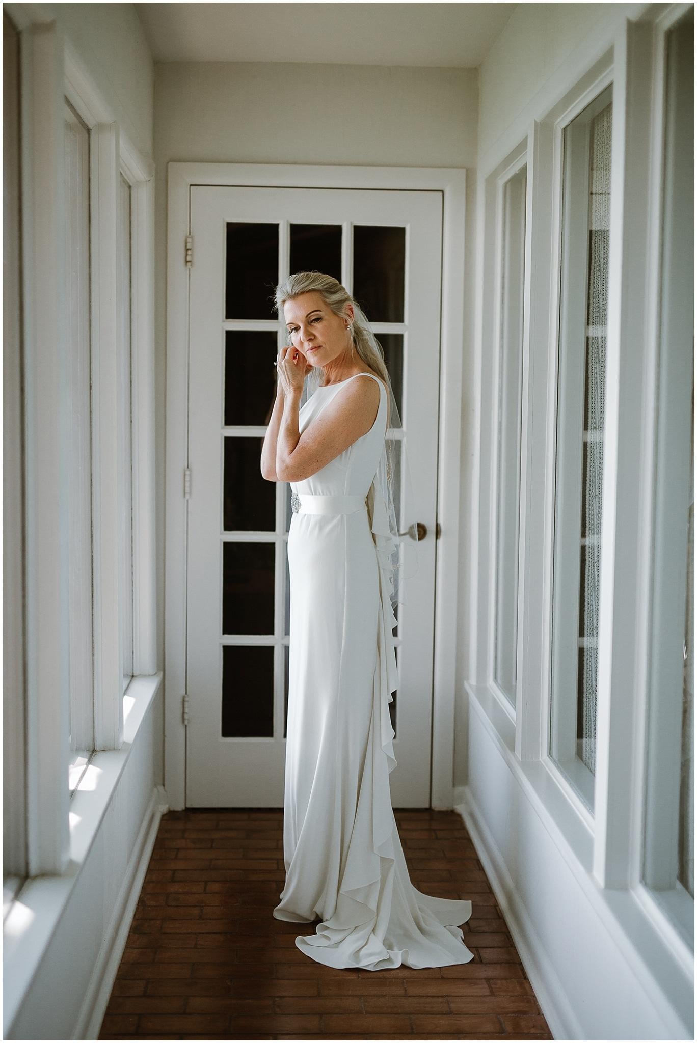 rustic destination wedding in ennis texas bridal portrait