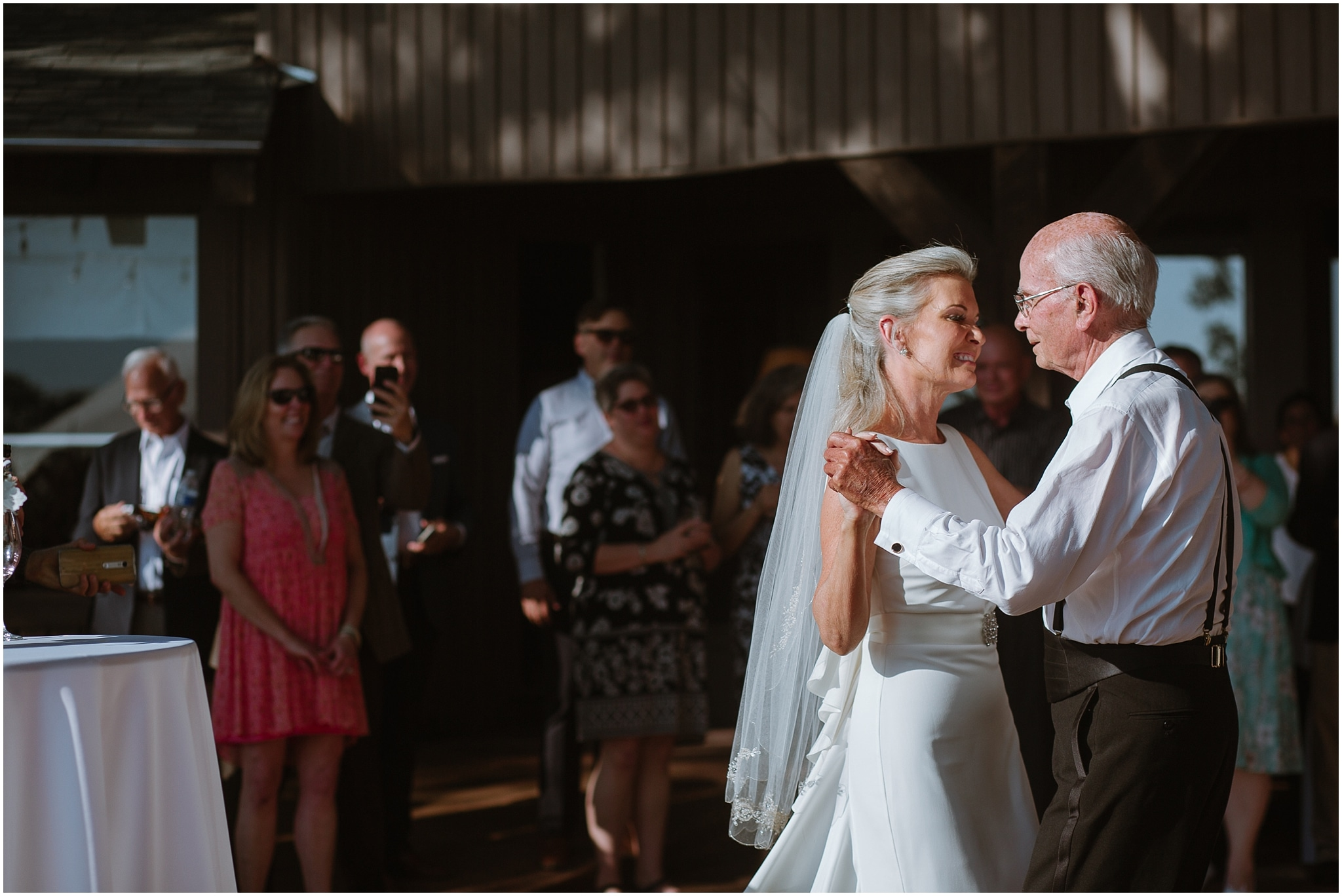 rustic destination wedding in ennis texas father daughter dance