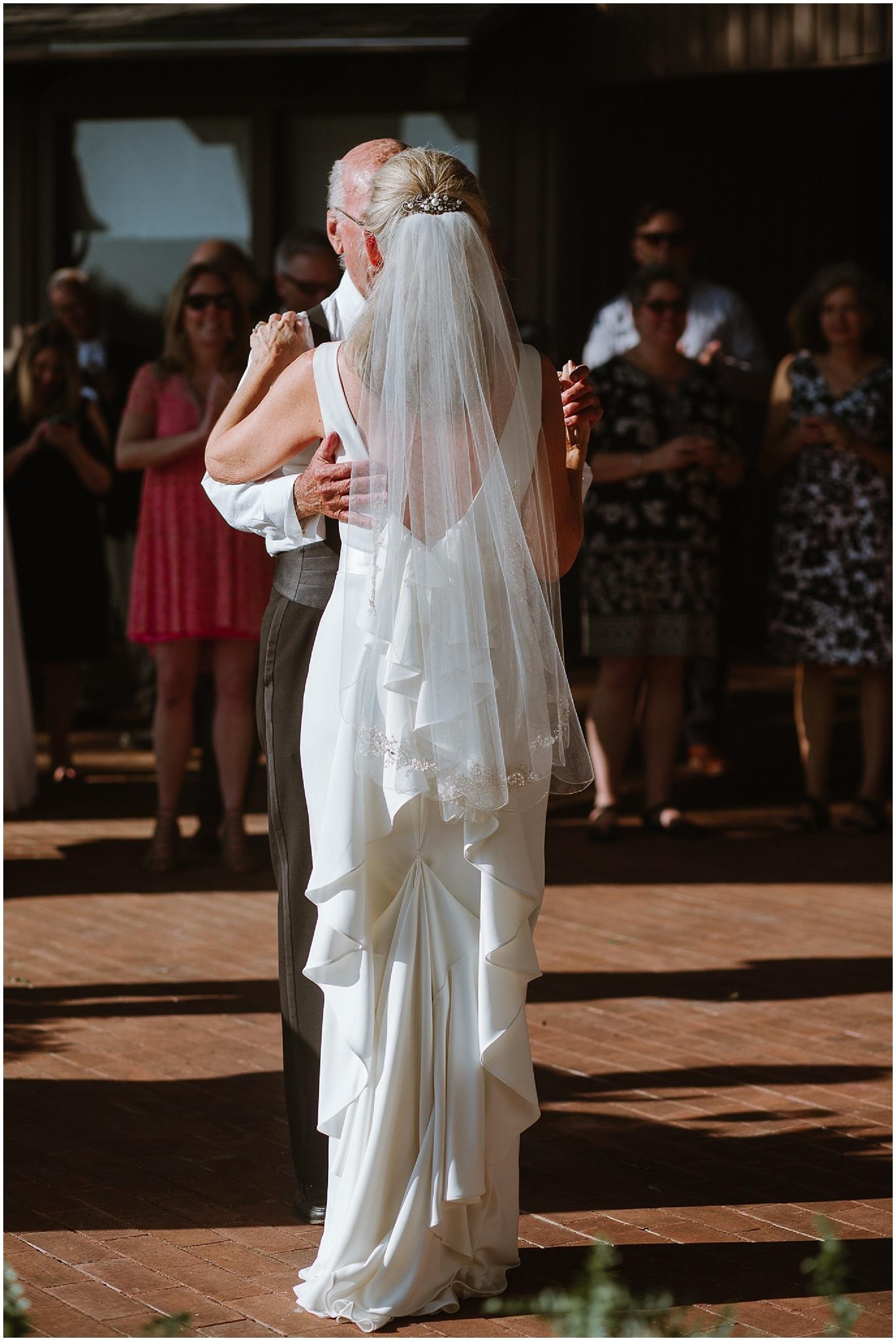 rustic destination wedding in ennis texas father daughter dance