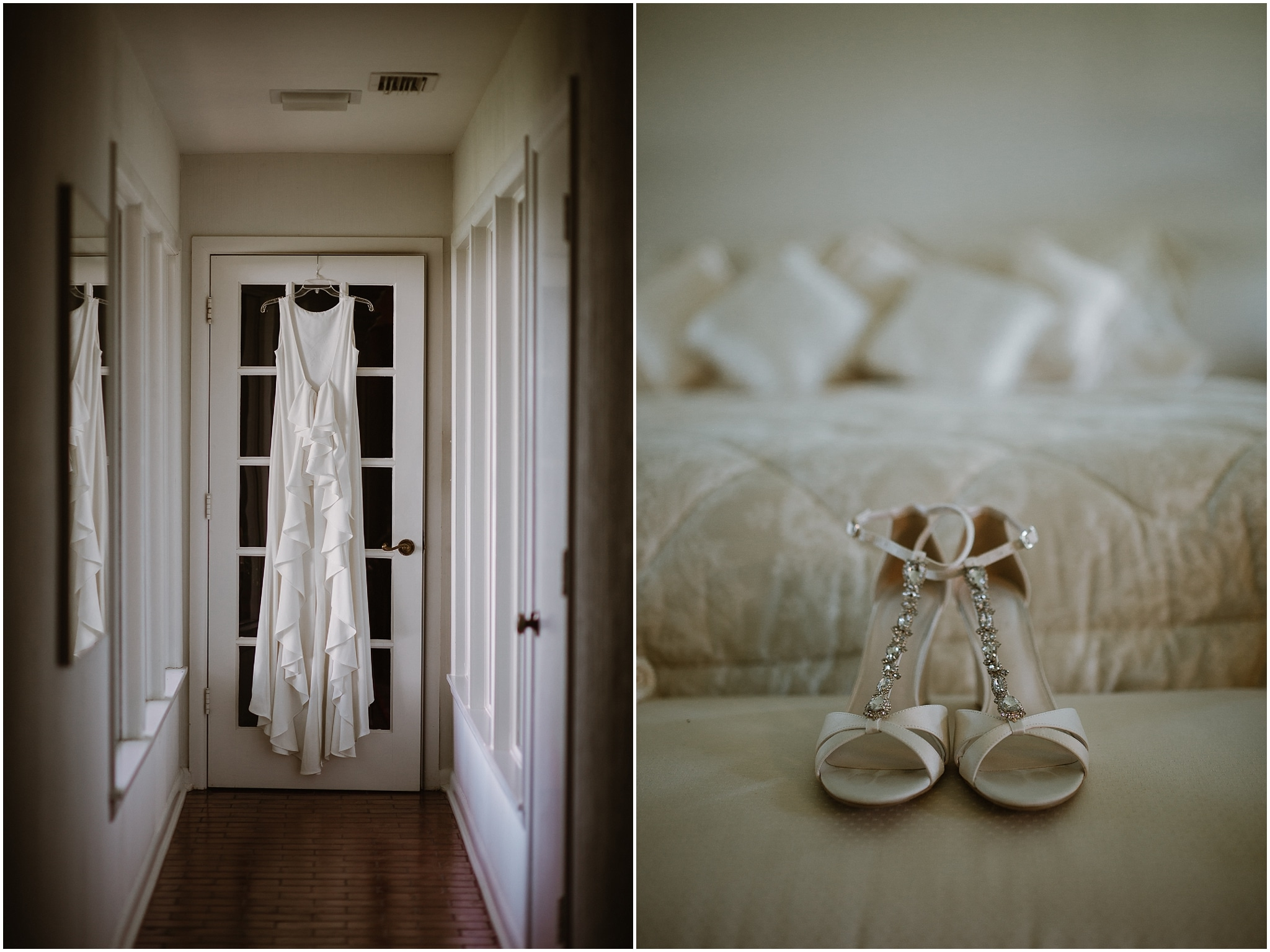 rustic destination wedding in ennis texas details