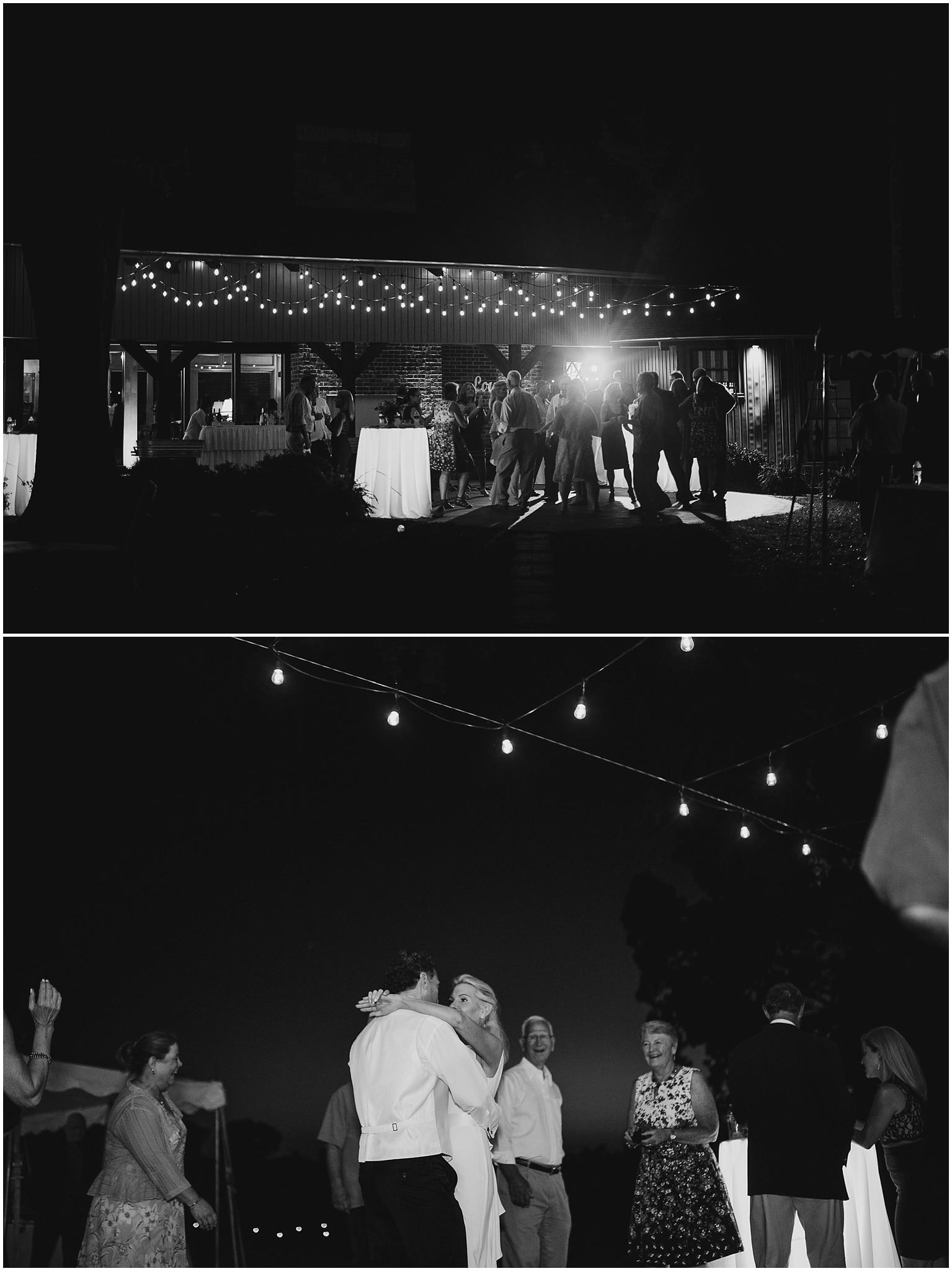rustic destination wedding in ennis texas reception