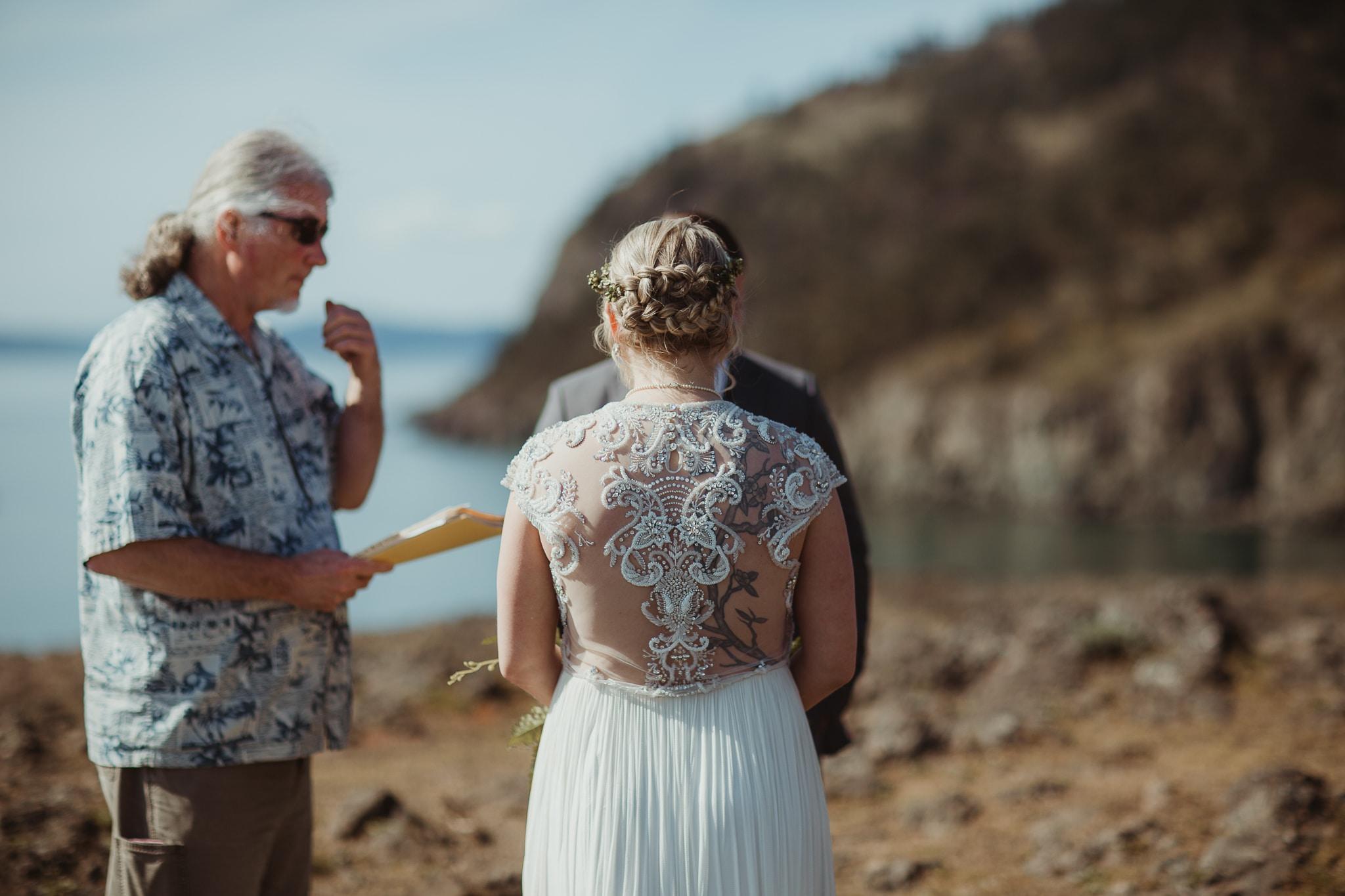 deception pass rosario beach elopement