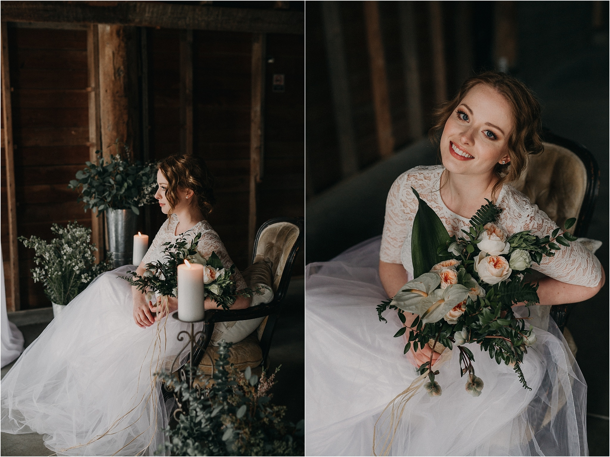 olympic peninsula boho barn wedding