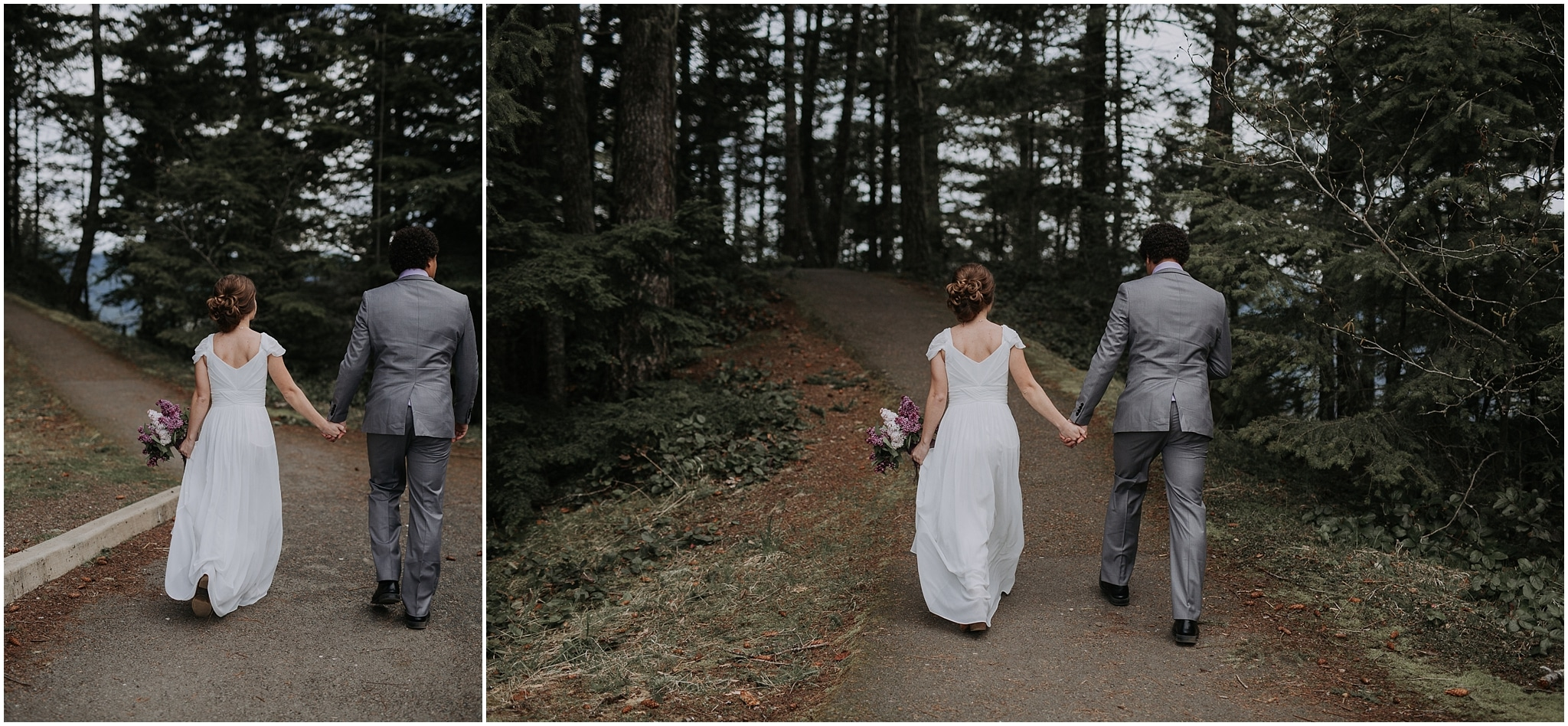 Hurricane Ridge and Olympic National Park elopement kim butler