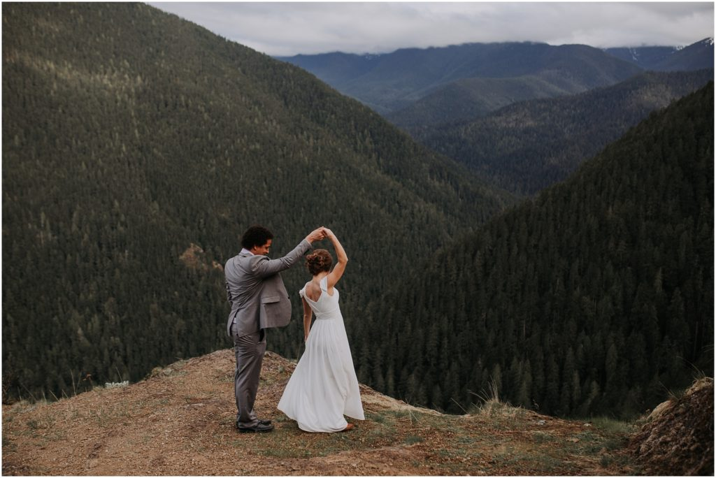 Ken & Liz // A Hurricane Ridge Elopement