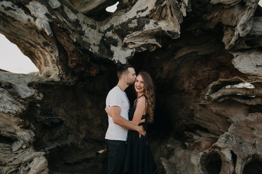 Bryce & Jade // Engagement session at La Push Beach