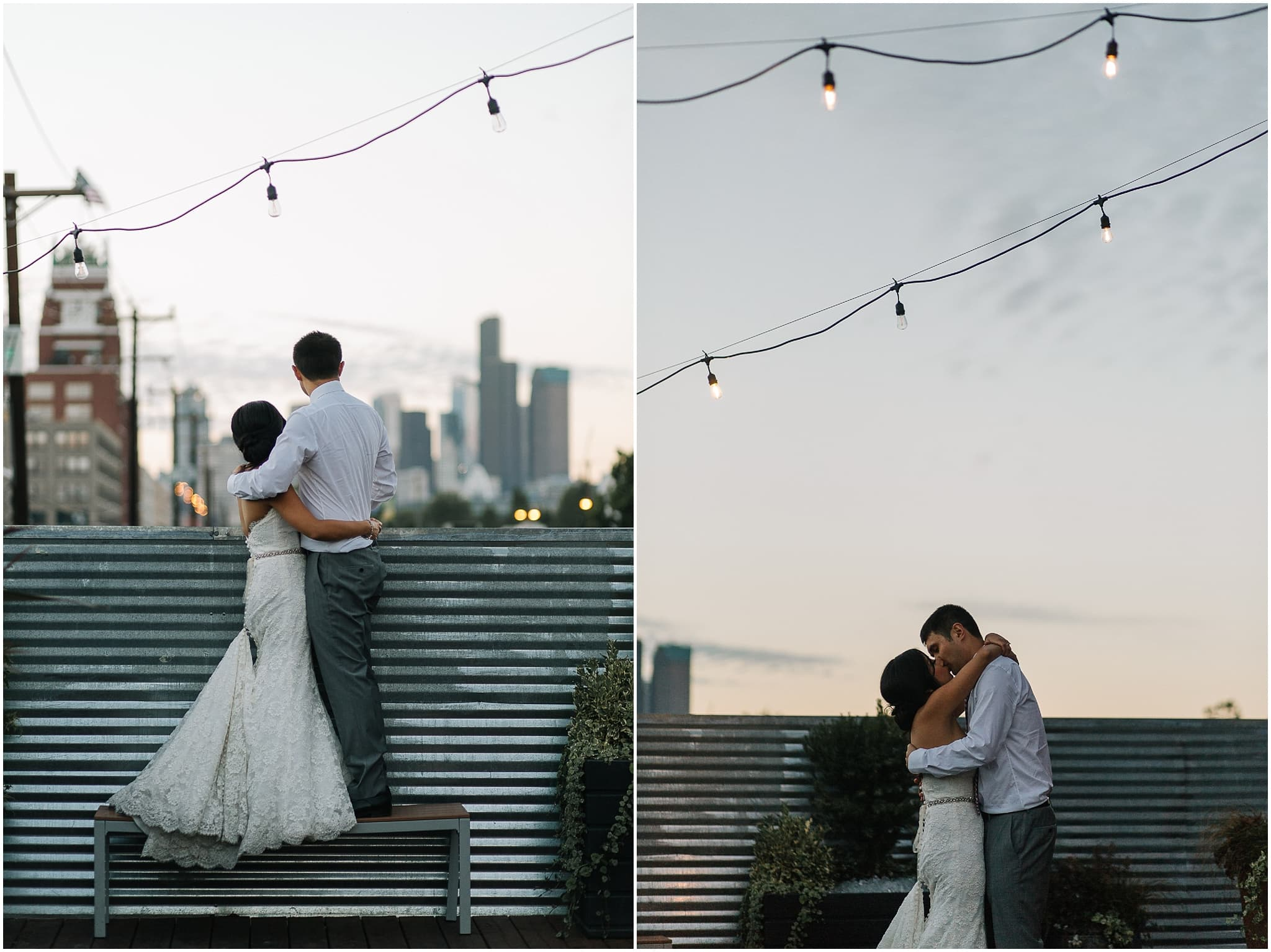 within sodo, urban, seattle wedding