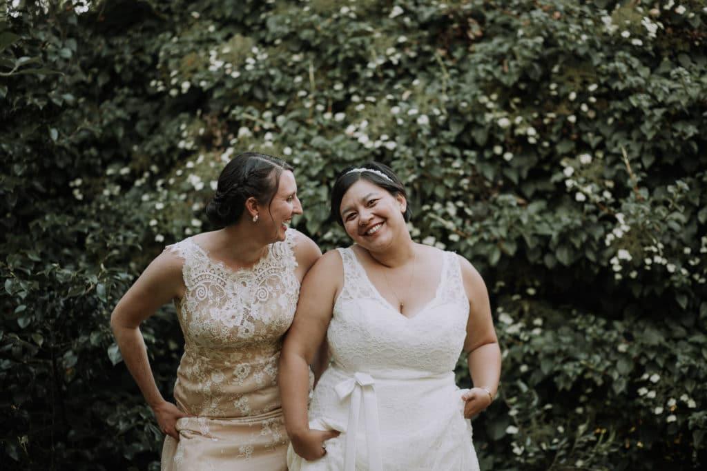 Jen & Jen // Albee's Garden LGBT Wedding