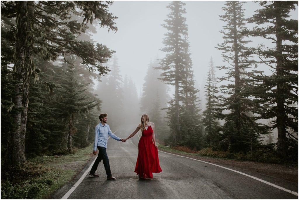 Nicholle & Sean // Hurricane Ridge Engagement