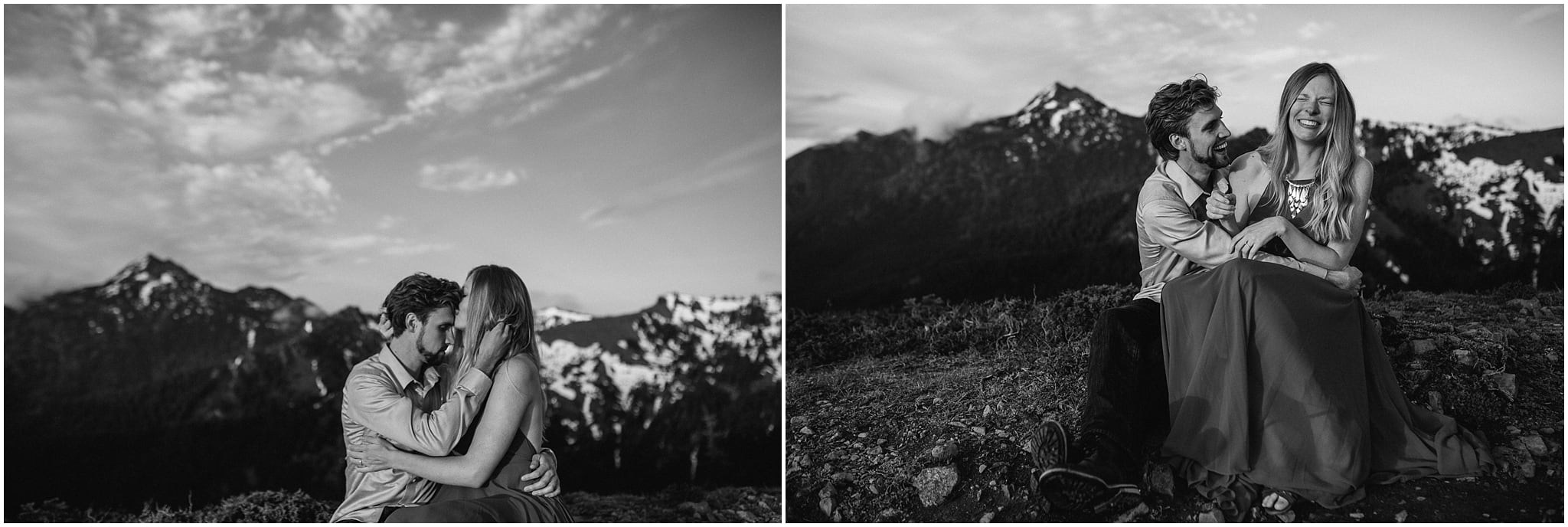 hurricane ridge, olympic national park, engagement, kim butler