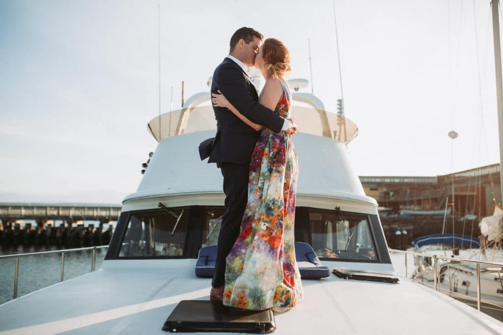 Erin & Darryl // Port Townsend Nautical Wedding