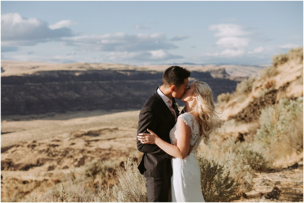 Matt & Paige // Cave B Winery Wedding