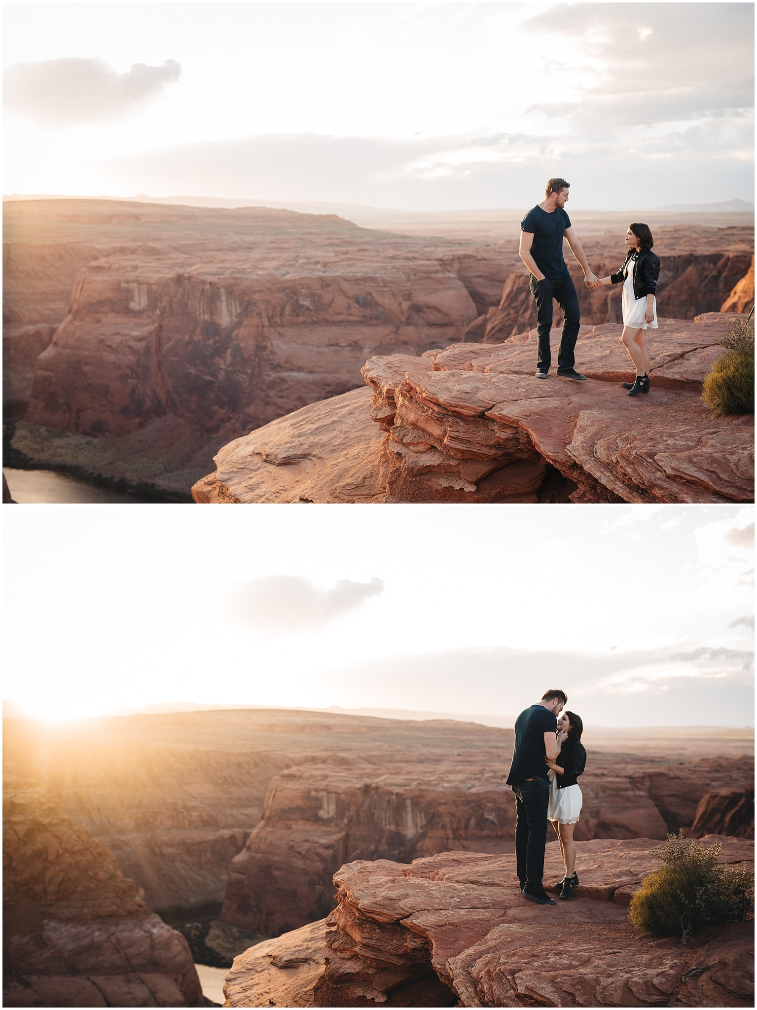 Horseshoe Bend Engagement Photos, Adventure Engagement Photos, Arizona Engagement Photographer, Arizona couples photos, Arizona wedding photographer, Best photographers in Arizona, Best Arizona engagement photographers, Best Arizona Wedding photographers, Fun Engagement photo ideas, desert Engagement photos, adventurous Engagement session, Save the date photo ideas, Horseshoe Bend Arizona, Page Arizona, Page Arizona Elopement Photographer, Page Arizona Engagement Photographer, adventure elopement photographer