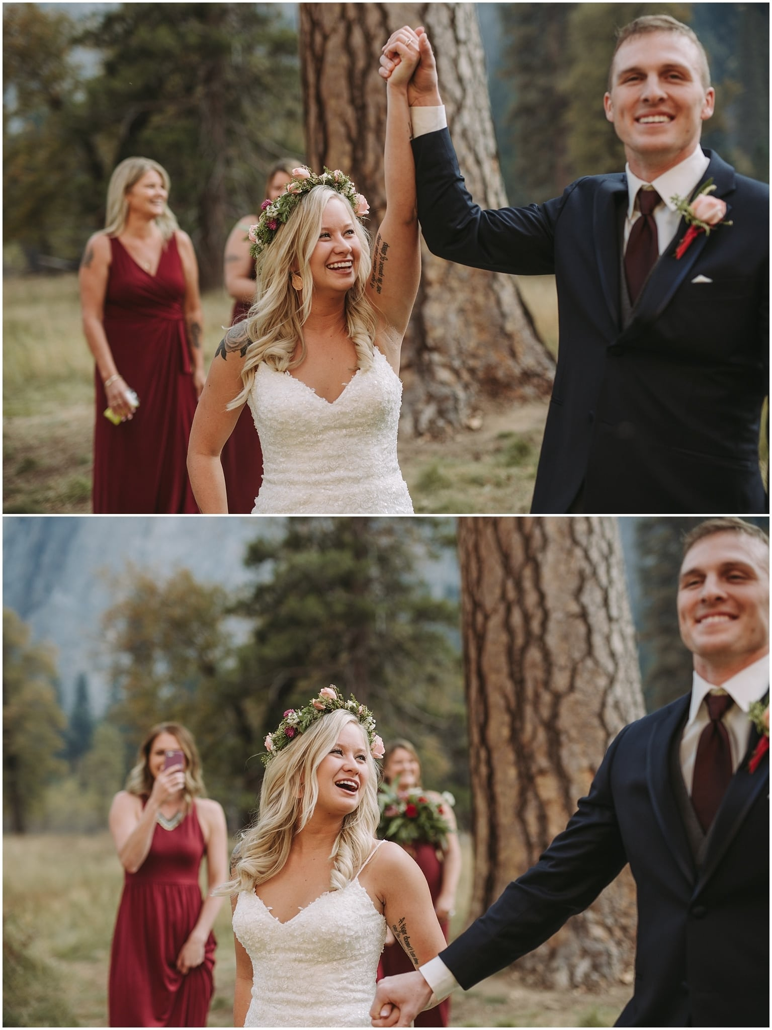 Yosemite National Park Adventure Elopement