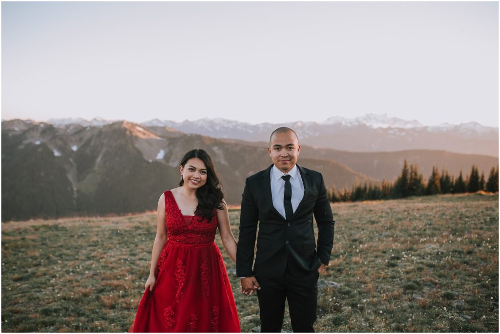 Juwelene & Allan // Olympic National Park Adventure Session