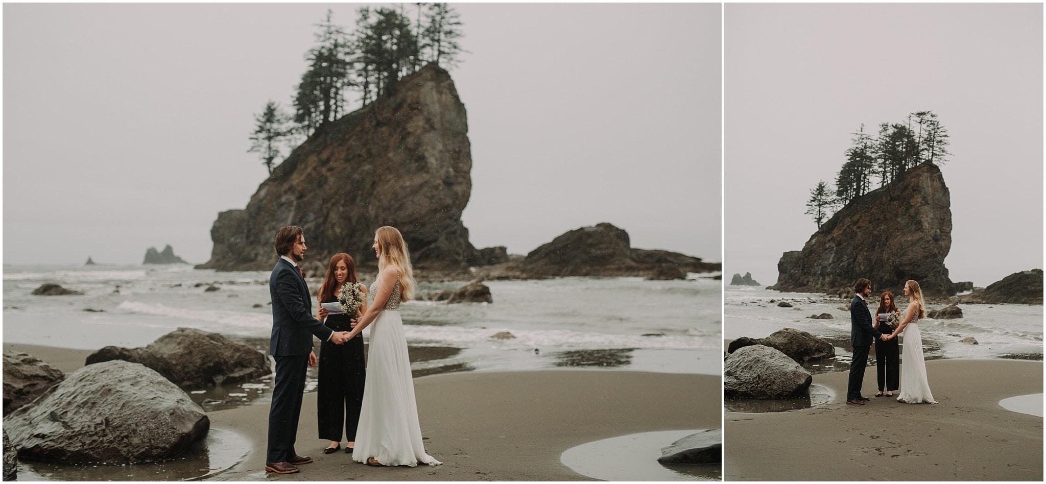 la push, olympic peninsula, elopement, kim butler