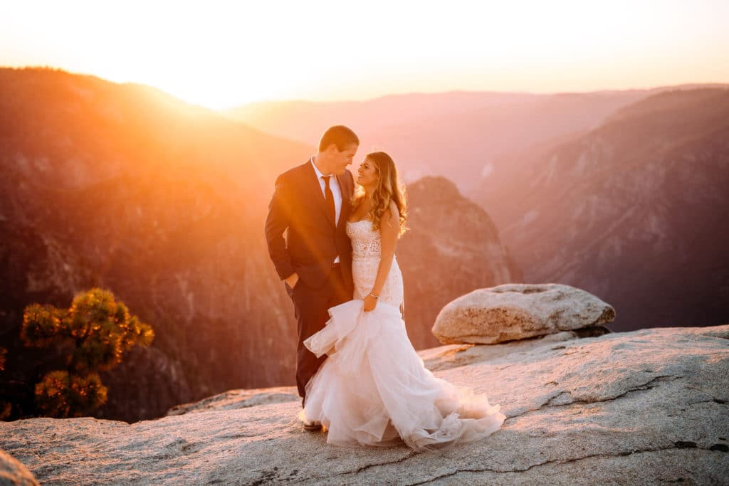 A Yosemite Adventure Elopement at Taft Point