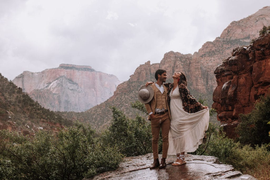 Why elope? Here is a guide to the differences between an adventure elopement and a regular wedding.