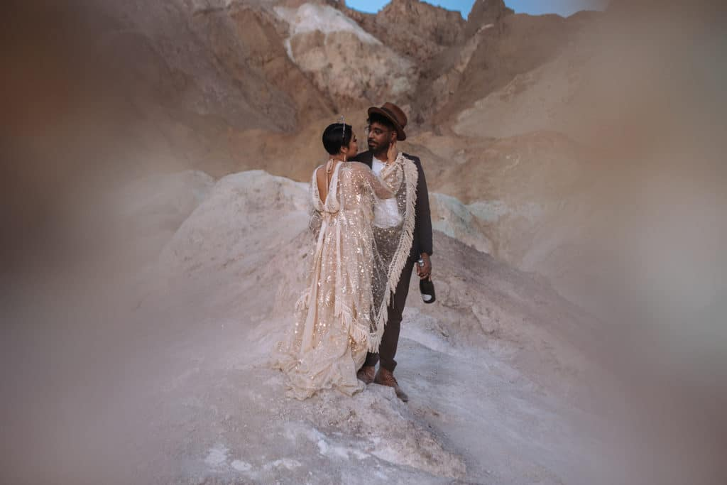 Stunning Death Valley Elopement